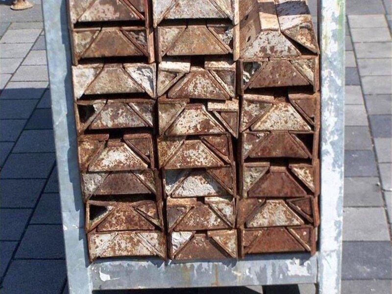 4 pcs. Shuttering elements Paschal  20 x 125 cm