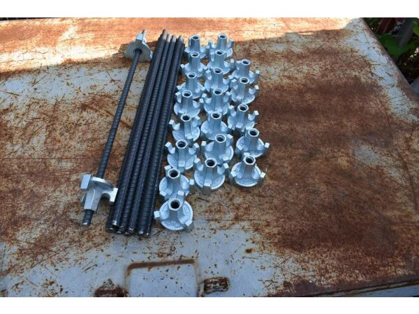 10 pcs. formwork anchor with nut